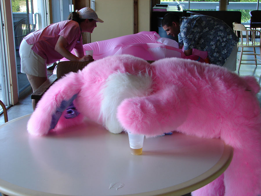 Drunk Easter Bunny 65